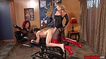 Ass Fucking Punishment FEMDOM STRAPON PEGGING PUSSY LICKING