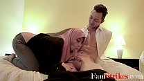 Arab Daughter In Hijab Fucks Stepdad- Ella Knox