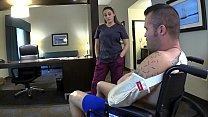 Nurse MILF Mom Soothes Injured Son Part 1