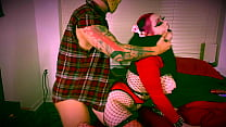 Horny Goth Girl Kat Black Gets Fucked by Friday the 13th Jason!