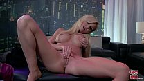 GIRLS GONE WILD - Young Texas College Girl Astrid Plays With Her Shaved Pussy
