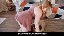 STAY HOME MILF -  Fucked  By Horny Roomie