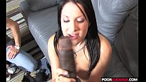 Horny HotWife Chelsie Rae Gets Fucked By Black Cocks In Front Of Ht Of Her Hubby