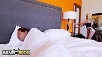 BANGBROS - Petite Blonde Teen Elsa Jean Wakes Stepdad Up For Sex