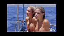 Nude Girls in a Shark Cage!