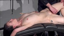 Gagged amateur slaves sextoy domination and spanked blowjob of whipped submissiv