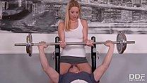 Fitness slut Nikky Dream goes pantyless to Gym & gets Skull Fucked