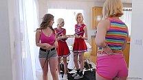 Lesbian cheerleaders make special cookies - Eliza Jane, Lena Paul