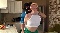 Home intruder fucked Mom housewife in Anal for the first time. Role play