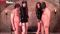 FunMovies Three German amateurs fucking their male sex slaves