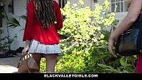 BlackValleyGirls- Hot Teen Julie Kay Steals and Fucks Boyfriend