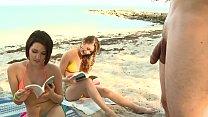 BRANDI BELLE - My Friends And I Getting Kinky On The Beach