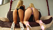 Creampie scene with Brittney and Angel Spice by All Internal