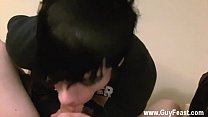 Twink video William and Trace get into some heavy foot idolizing in