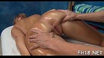 Massage sex pleased ending