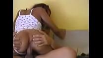 rompiendole el culo a una dominicana