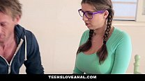 TeensLoveAnal - (Alex Chance) Likes Her Stepfather's Dick In Her Ass