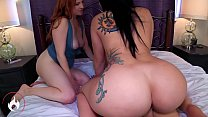 Mom and Sister's Big Juicy Asses -Mandy Muse and Lady Fyre Trailer