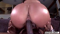 Gorgeous yummy babe Olivia gets her pussy penetrated hard