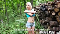 Mofos - Public Pick Ups - (Zazie Skymm) - Euro Babe Fucked in the Woods