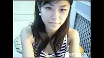 beautiful asian teen on cam