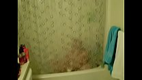 Hidden cam from 2009 of wife masterbating in the shower