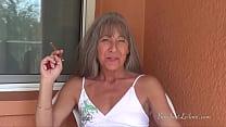 Foot Tease While Smoking Trailer