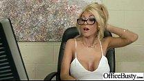 Sex Tape With Huge Melon Juggs Slut Office Girl (kayla kayden) clip-25