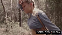Lost in woods 18yo Marsha May dicked before facial