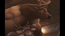 Xmas elk bar, where some reindeer come for fun ...
