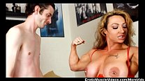 EroticMuscleVideos Lift And Carry Femdom Part 1