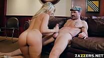 Kayla Kaydens tight anal fuck sideways by Charles Dera