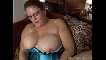 Kinky old spunker in sexy lingerie wants you to fuck her fat pussy