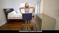 ExxxtraSmall - Petite Blonde Stepdaughter Hime Marie Fucks Stepdad's Huge Cock