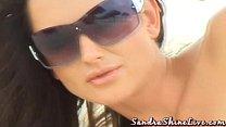 Sandra shine beach erotica