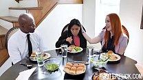 Foster Teen Daughter Learns Manners The Hard Way- Ember Snow, Summer Hart