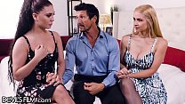 DevilsFilm Sexy Mistress Sarah Vandella Teaches His Wife How It Is Done!