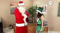 lovely teen in elf costume getting fucked by her favorite teacher