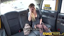 Fake Taxi Busty blonde MILF Amber Jayne sucks and fucks big taxi cock