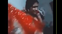 Desi Chudai of Beautiful Indian Village wife in saree enjoying with husband
