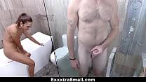 ExxxtraSmall - Fucking My Step-Bro In The Bathroom (Esperanza Del Horno)