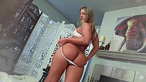 Sensual Suite: Candice Dare & Laz Fyre Big Booty PAWG oiled and fucked