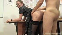 Russian mature teacher 12 - Elena (anathomy lesson)