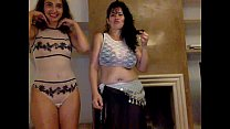Mother and Daughter on webcam 2 - more videos on www.amateurcams.cf