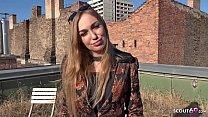 GERMAN SCOUT - Fashion Teen Model Liza Talk to Anal for Cash