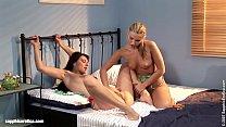 Curious Tongues sensual lesbian scene by SapphiX