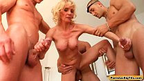 MIlf Thing with Busty Sexy Housewife Getting Fucked 13