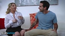 An Experienced Mature Mommy (Kiki Daire) Fucks A Young Stud - Reality Junkies