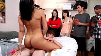 BANGBROS - Rachel Roxxx, Rachel Starr, Diamond Kitty, & Luna Starr In College