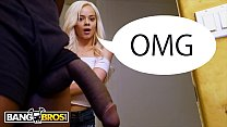 BANGBROS - Young Teen Elsa Jean Stumbles Upon Isiah Maxwell's Big Black Cock And Falls In Love